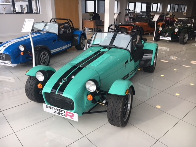 New Caterham 420r New And Used Caterham For Sale With