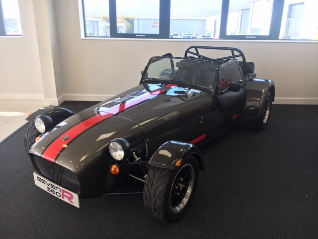 caterham 360r sv new and used caterham for sale with bookatrack. Black Bedroom Furniture Sets. Home Design Ideas